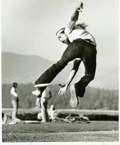 ken westerfield 1970's freestyle frisbee 2