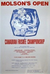 1975-Canadian Open Frisbee Championships poster