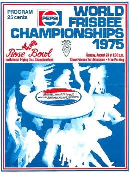 1975 World Frisbee Championships poster