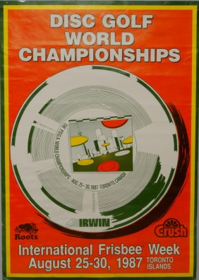 1987 World Disc Golf Poster